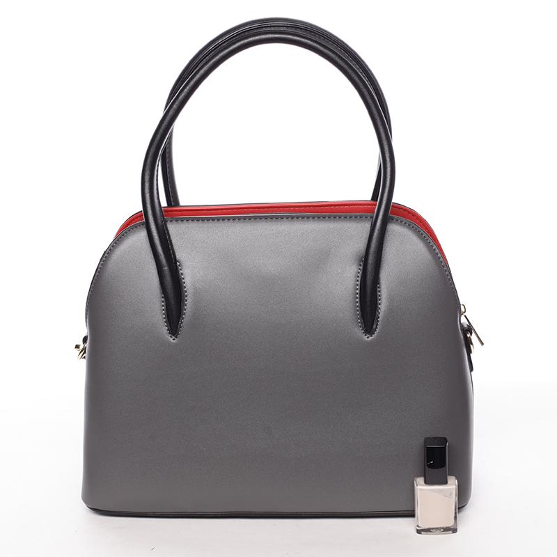 Trendy kabelka do ruky Leandra, šedá