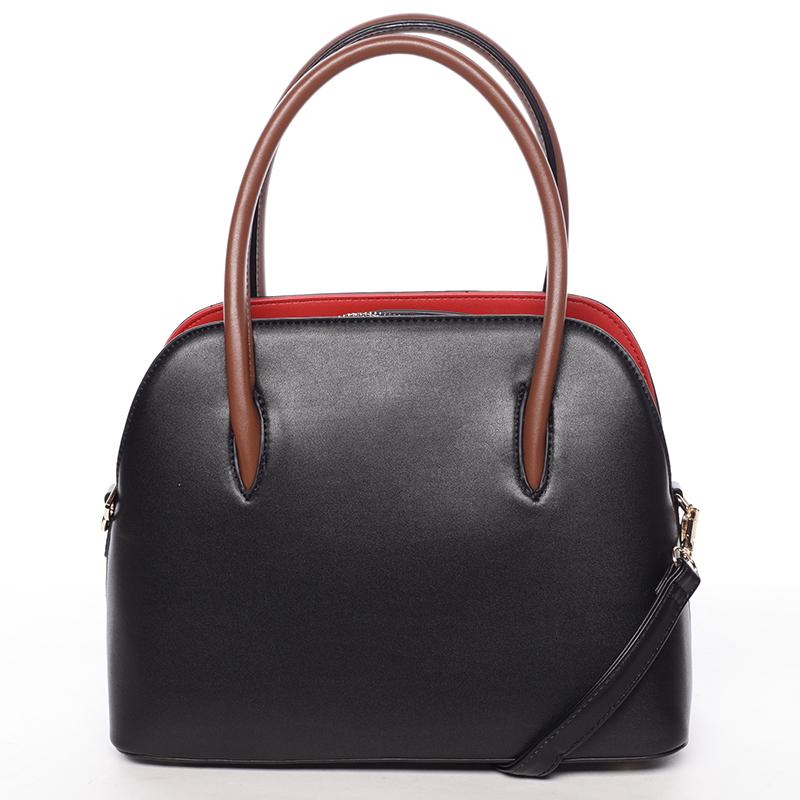 Trendy kabelka do ruky Leandra, černá