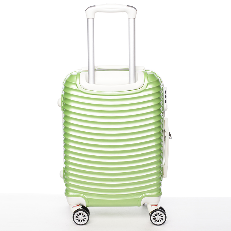 Stylový cestovní ORMI kufr 4 kolečka, vel. III, zelený