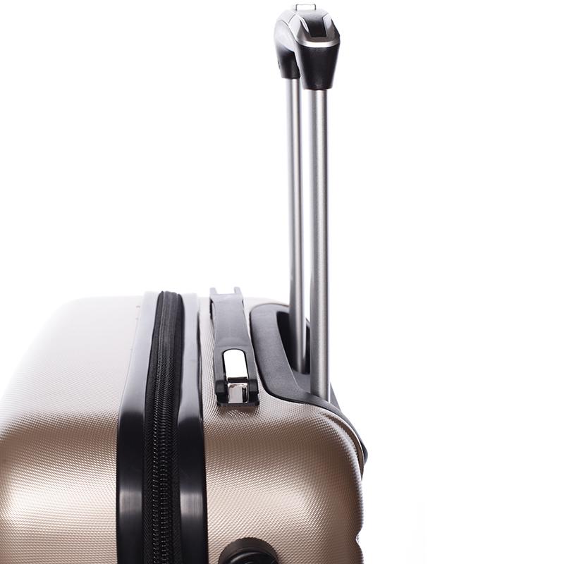 Cestovní stylový kufr 4 kolečka, vel. I, zlatý