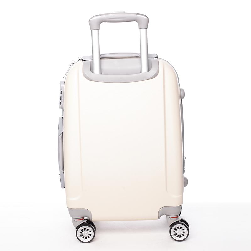 Cestovní ORMI kufr 4 kolečka, vel. II, béžový