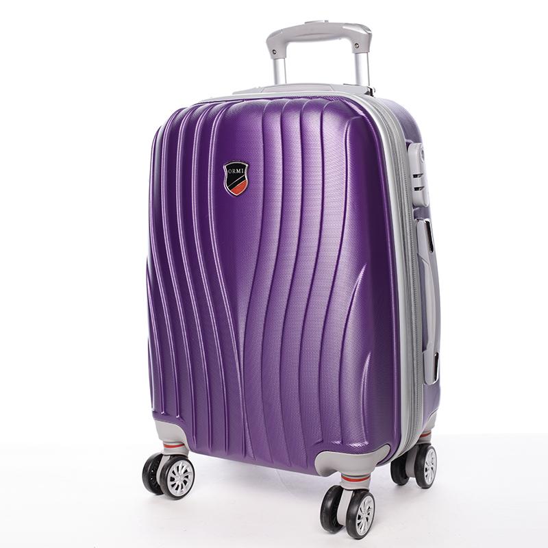 Cestovní ORMI kufr 4 kolečka, vel. II, fialový