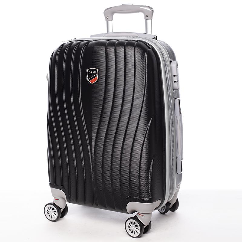 Cestovní ORMI kufr 4 kolečka, vel. III, černý
