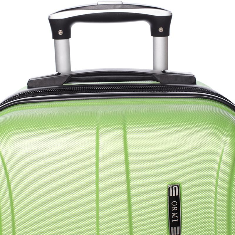 Cestovní stylový kufr 4 kolečka, vel. I, zelený