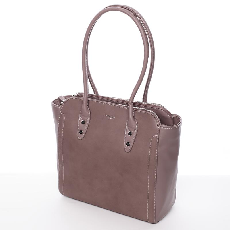 Elegantní kabelka přes rameno David Jones Miranda, tmavě růžová