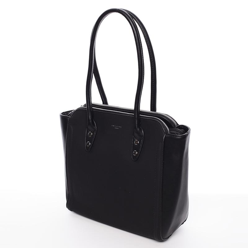 Elegantní kabelka přes rameno David Jones Miranda, černá
