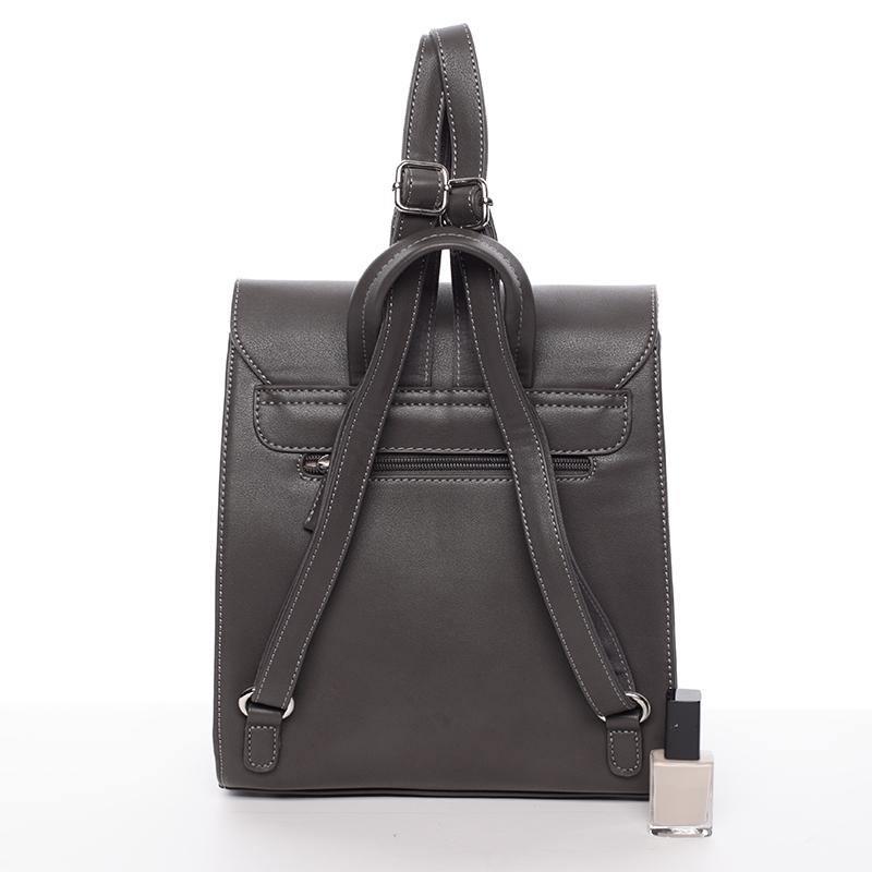 Elegantní dámský batůžek David Jones Sandra, tmavě šedý
