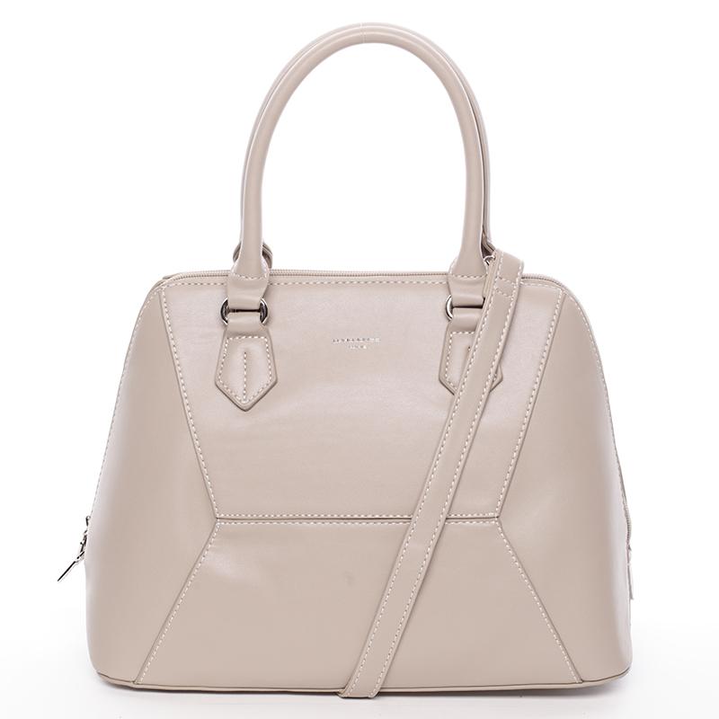 Luxusní dámská značková kabelka David Jones Patrice, camel