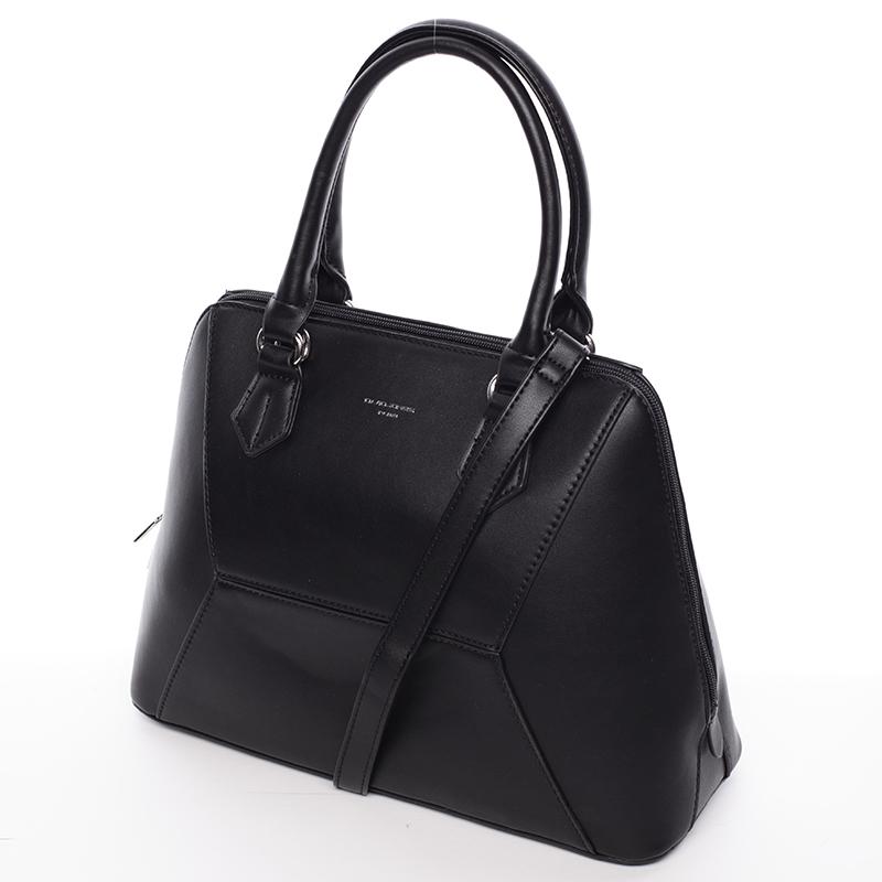 Luxusní dámská značková kabelka David Jones Patrice, černá