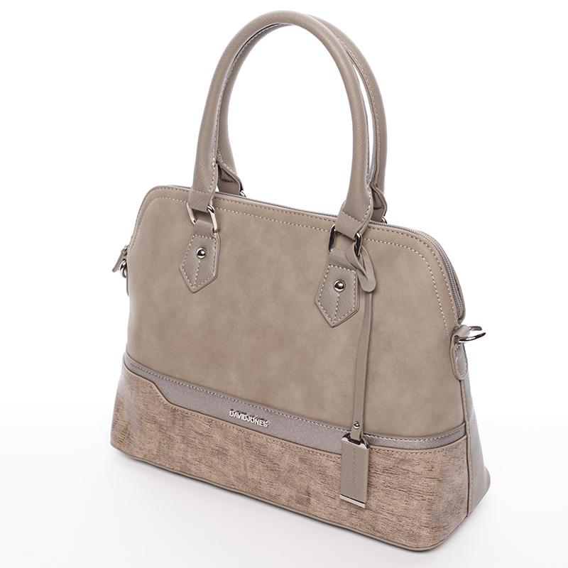 Dámská designová kabelka do ruky David Jones Janis, khaki
