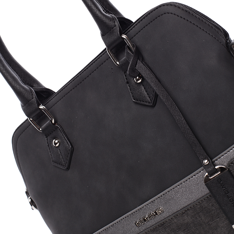 Dámská designová kabelka do ruky David Jones Janis, černá