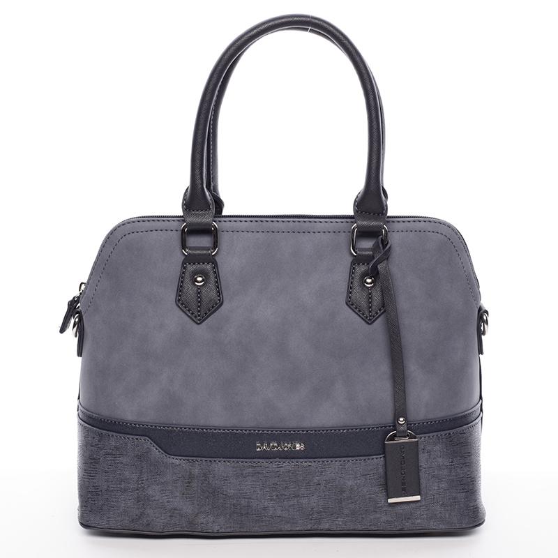 Dámská designová kabelka do ruky David Jones Janis, tmavě modrá