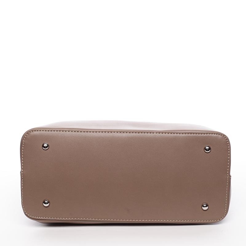 Elegantní dámská kabelka do ruky David Jones Amanda, hnědá
