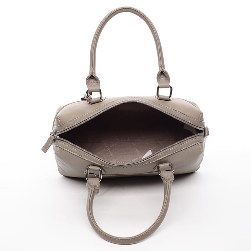 Designová kabelka do ruky i přes rameno David Jones Moira, khaki