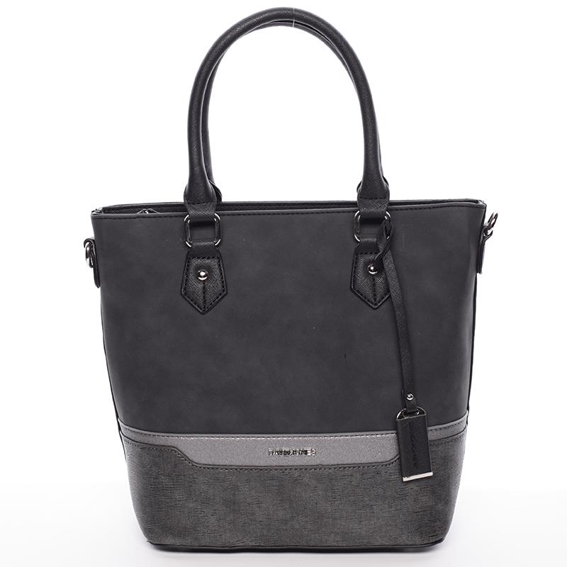 Trendy dámská kabelka do ruky David Jones Nadine, černá
