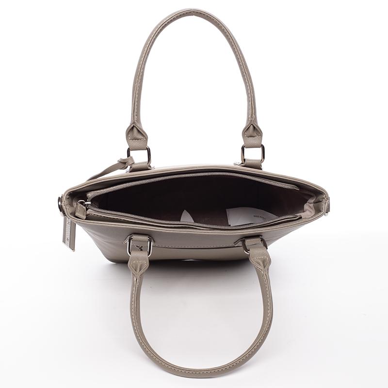 Trendy dámská kabelka do ruky David Jones Nadine, khaki