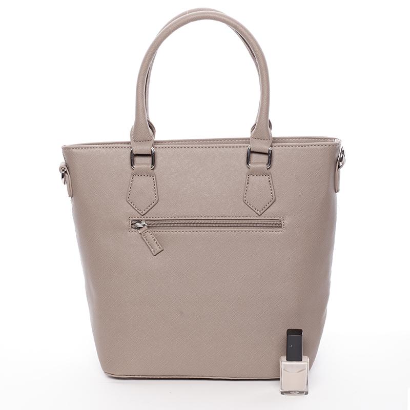 Trendy dámská kabelka do ruky David Jones Nadine, camel