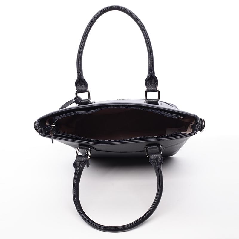 Trendy dámská kabelka do ruky David Jones Nadine, tmavě modrá