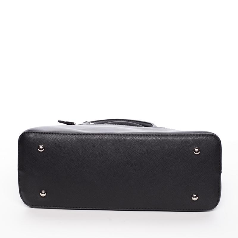Designová dámská značková kabelka David Jones Catharina, černá