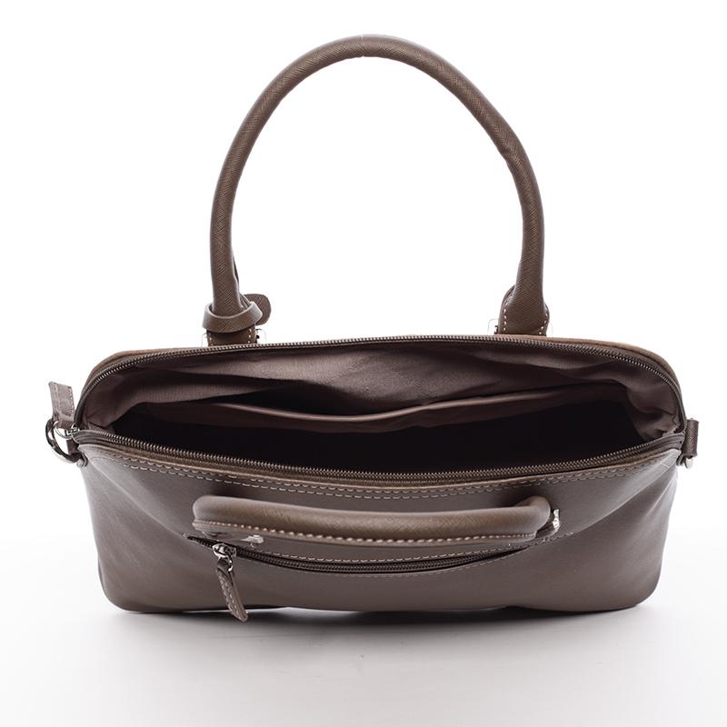 Designová dámská značková kabelka David Jones Catharina, taupe
