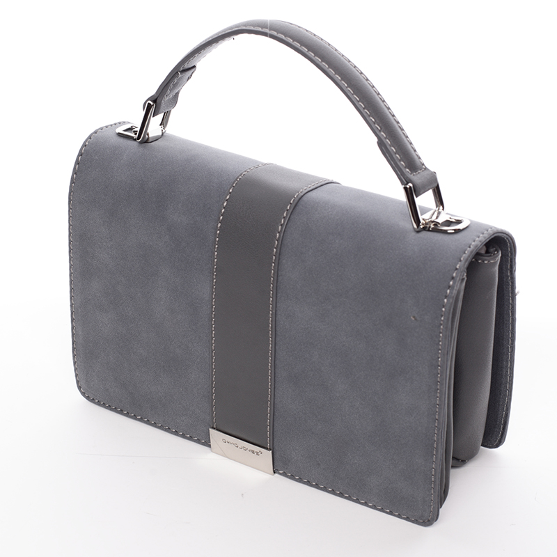 Designová crossbody taška David Jones Silver Ed, tmavě modrá