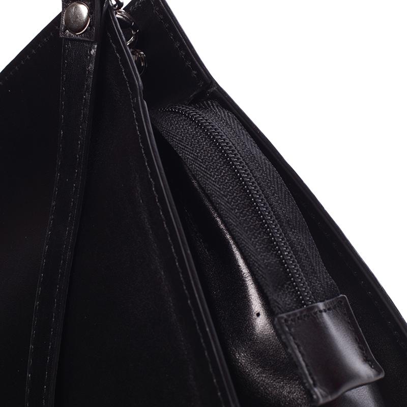 Dámská kožená kabelka PING C 226/8/6, černá