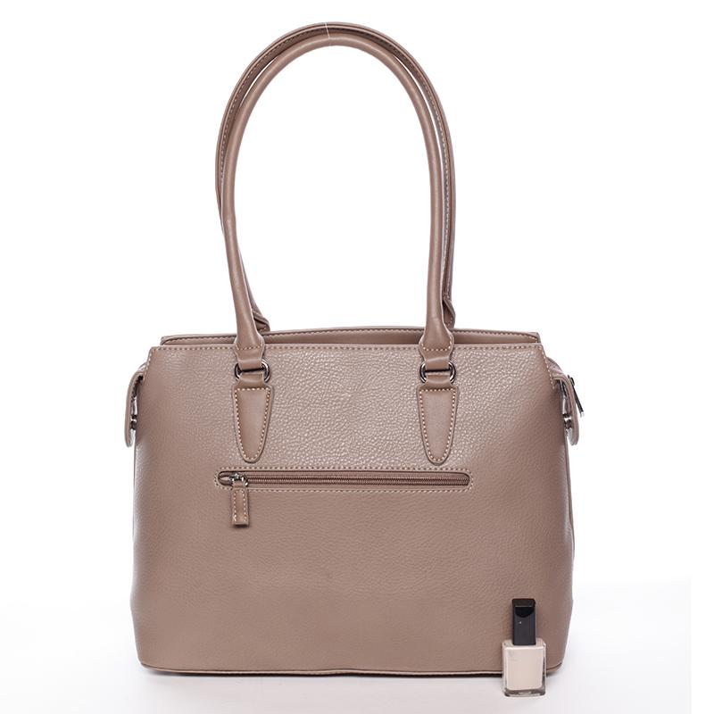 Luxusní dámská kabelka do ruky David Jones Pummel, camel
