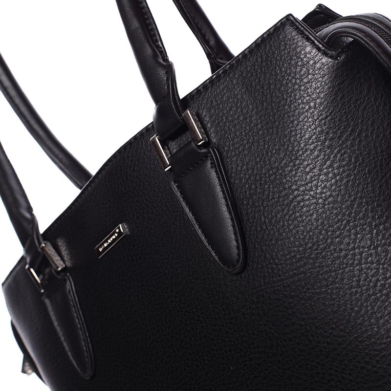 Luxusní dámská kabelka do ruky David Jones Pummel, černá
