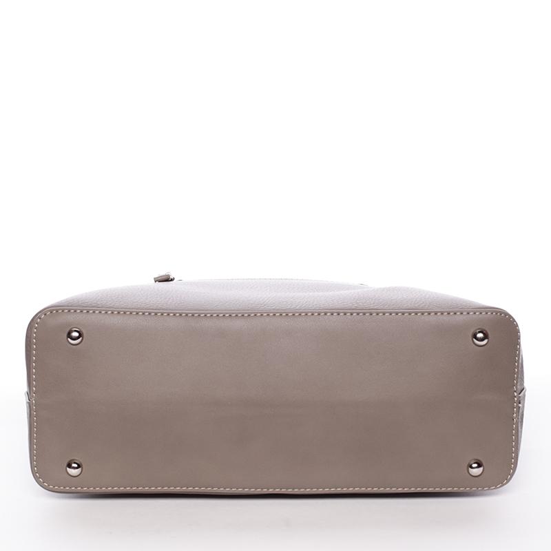 Luxusní dámská kabelka do ruky David Jones Pummel, taupe
