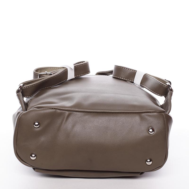 Stylový batoh David Jones 6IX8ITH, khaki