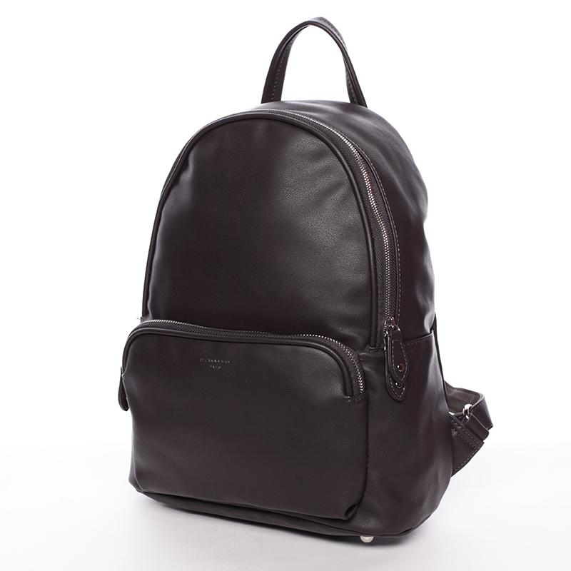 Stylový batoh David Jones 6IX8ITH, čoko