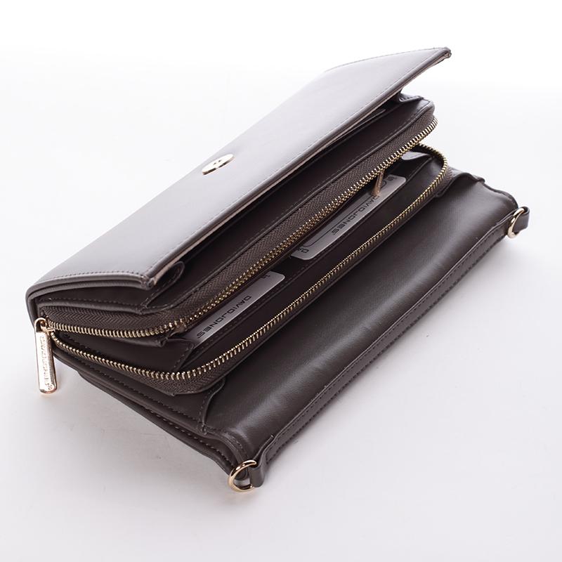 Dámská crossbody kabelka a peněženka Keira II, taupe