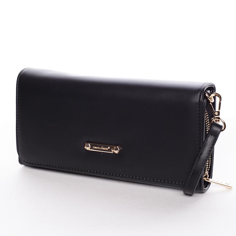 Dámská crossbody kabelka a peněženka Keira II, černá