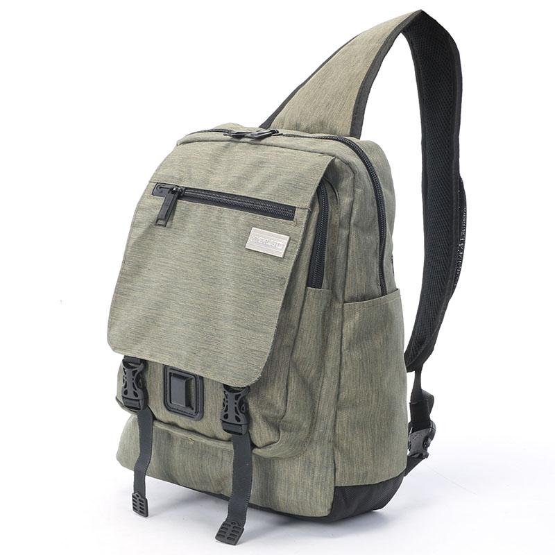 Sportovní batoh přes rameno Highland, khaki