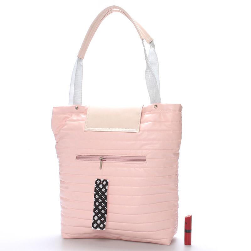 Dámská designová kabelka Carine Girl, růžová