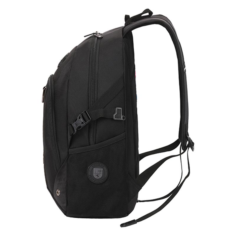 Outdoorový batoh Suissewin, černý