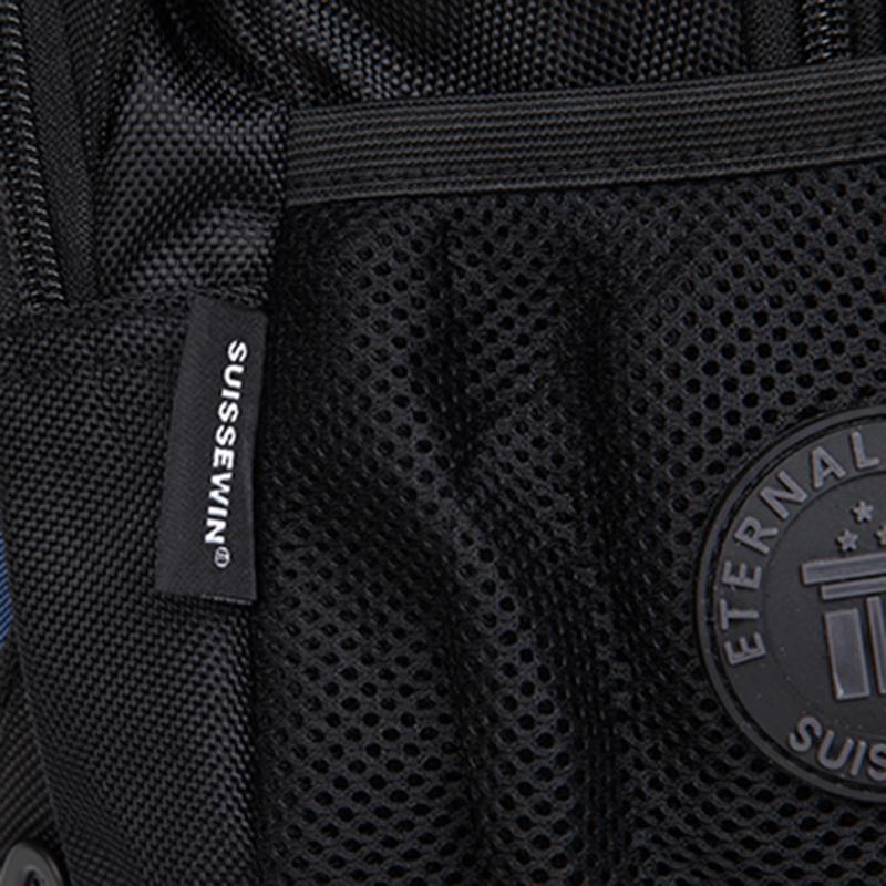 Kvalitní batoh pro sport, volný čas i do školy, černý