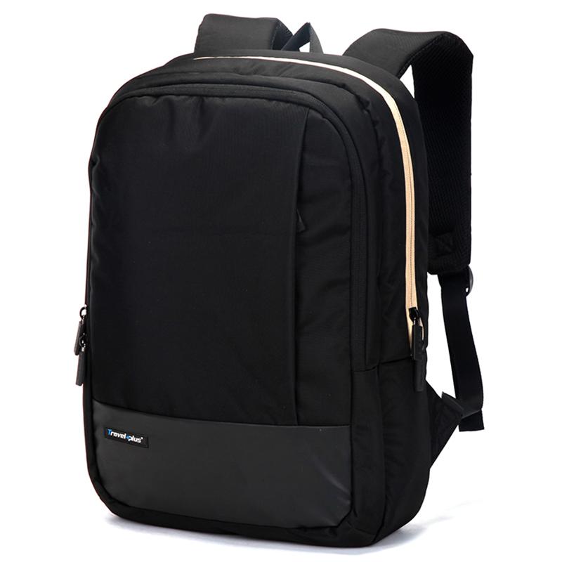 Školní batoh Travel plus, černý