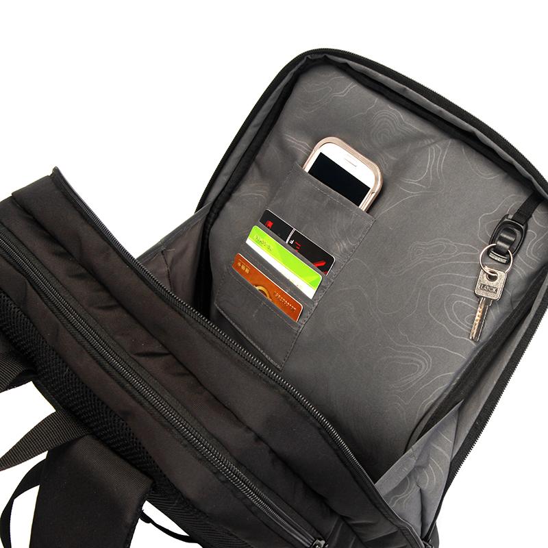 Kvalitní batoh pro volný čas, černý