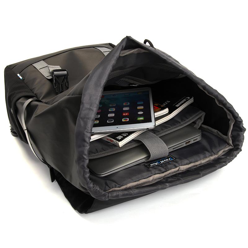 Víceúčelový Travel plus batoh, černý