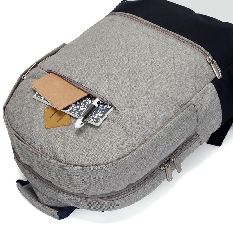 Outdoorový batoh Travel plus,  šedý