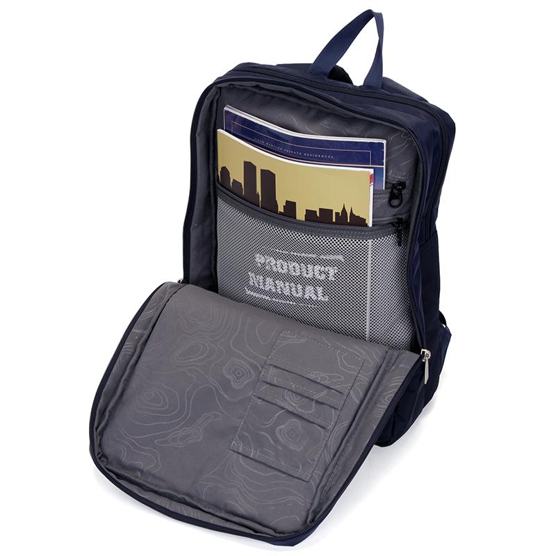 Dámský cestovní batoh Travel plus, modrý