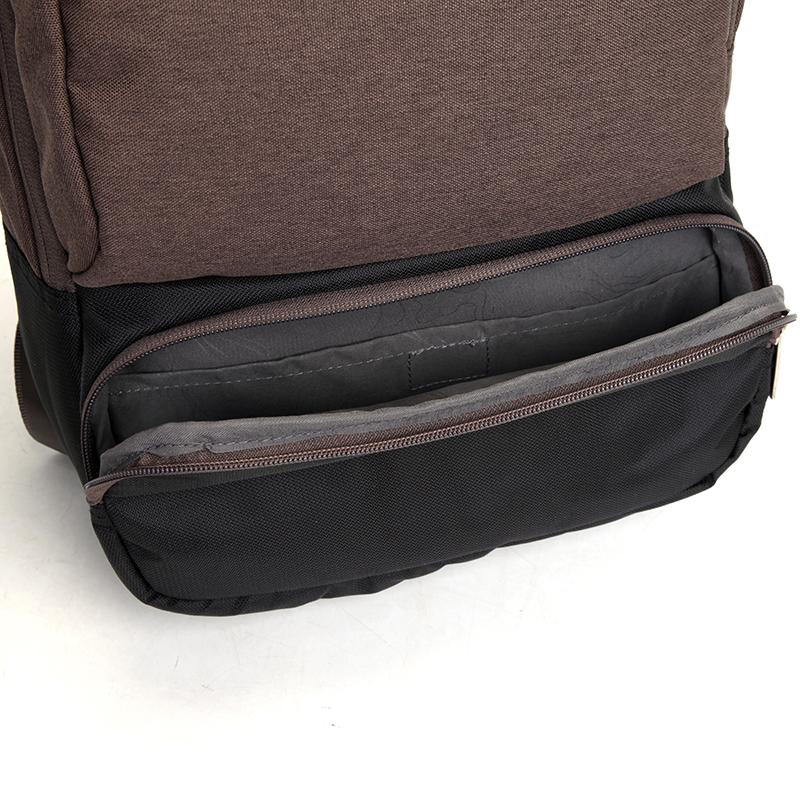 Studentský batoh, hnědý