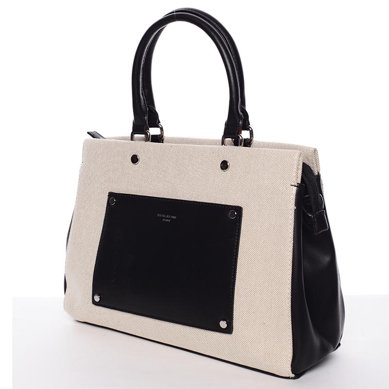 Dámská luxusní kabelka David Jones Iliana, černá