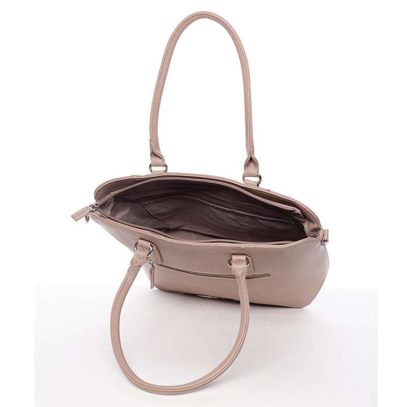 Luxusní dámská kabelka David Jones Renata, růžová