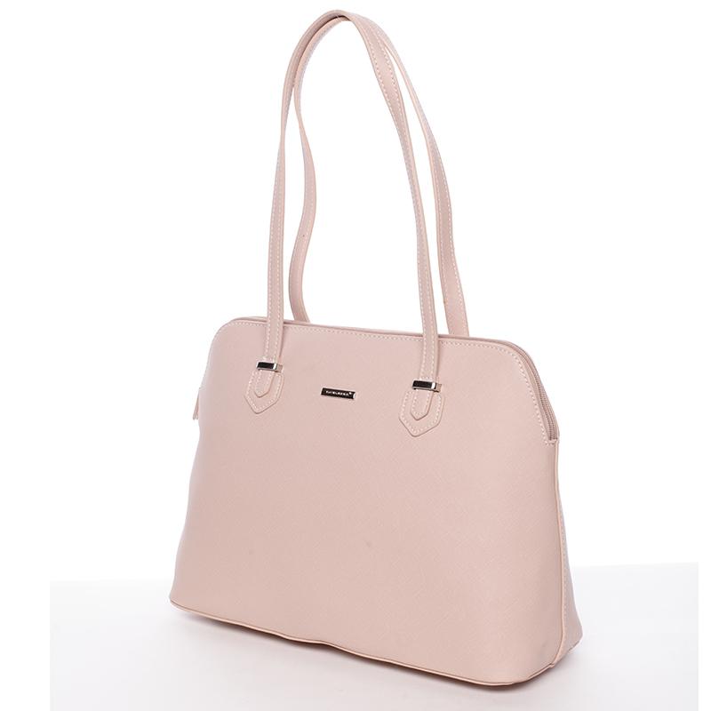 Dámská elegantní kabelka David Jones Marget, růžová