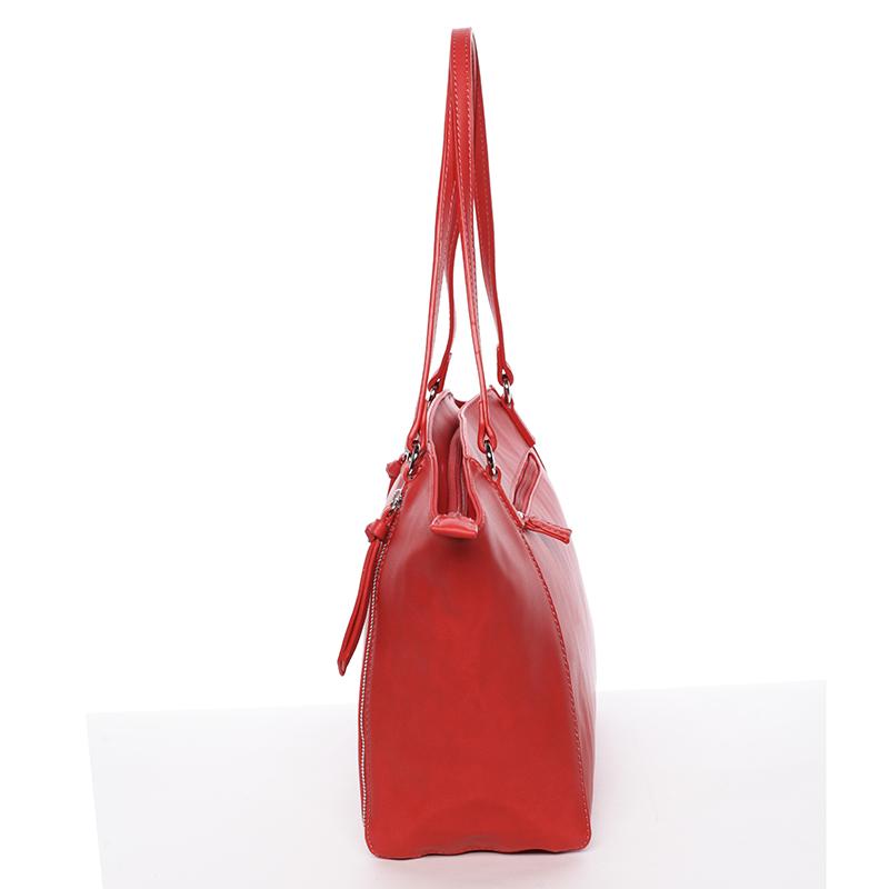 Dámská stylová kabelka David Jones Mellie, červená