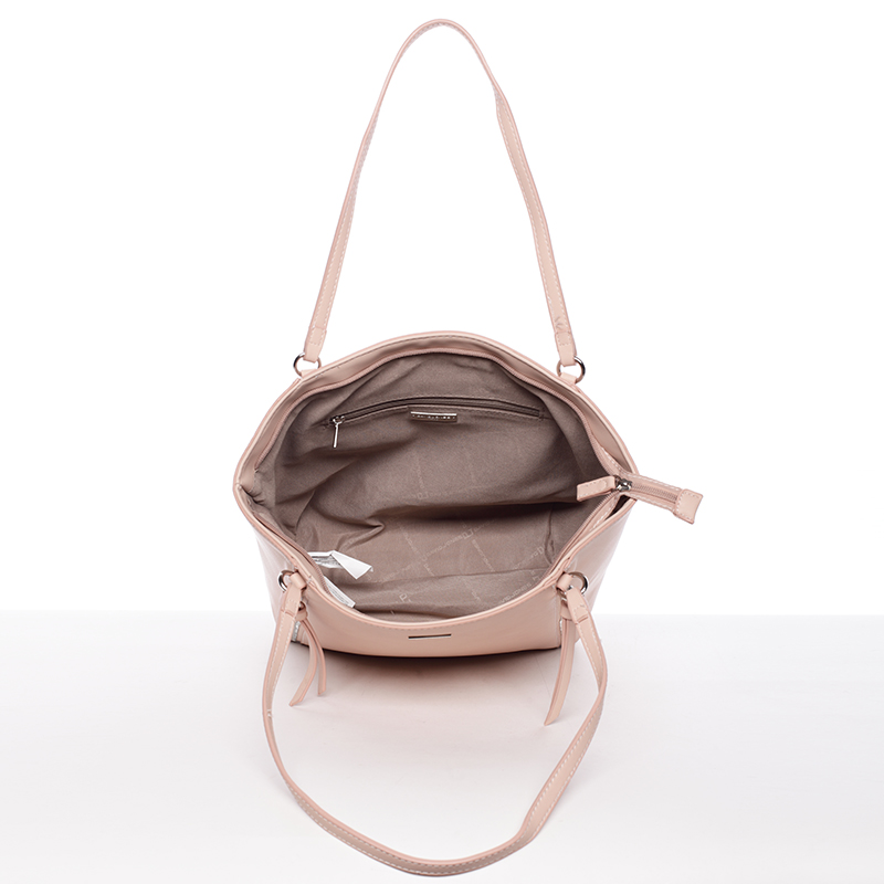 Dámská stylová kabelka David Jones Mellie, růžová
