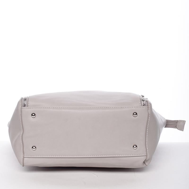 Dámská stylová kabelka David Jones Mellie, šedá