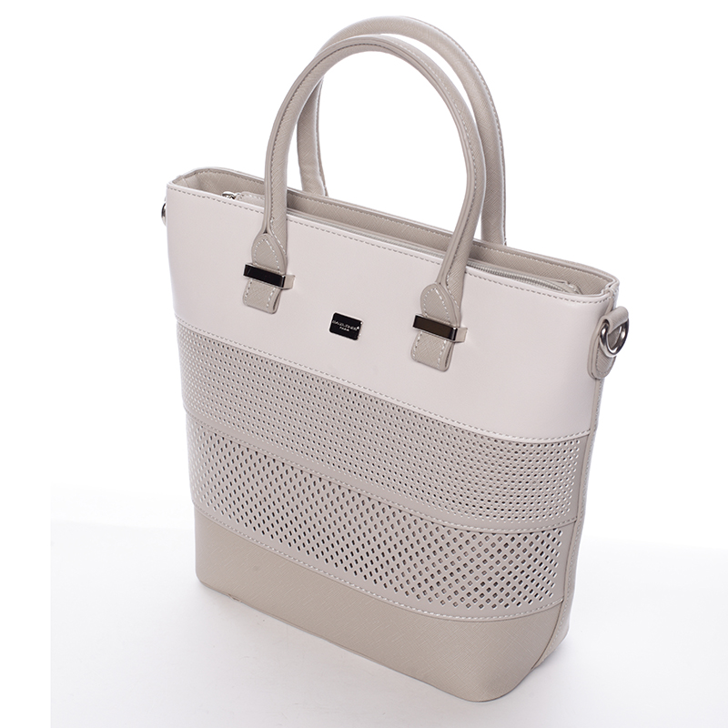Elegantní kabelka David Jones Philipa, šedá